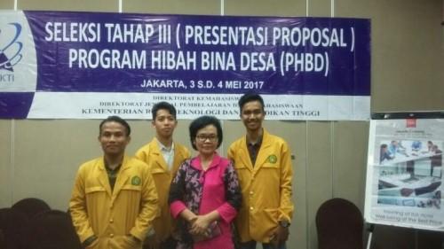 cover Tim PHBD Himaster Unmul Melaju ke Tingkat Nasional