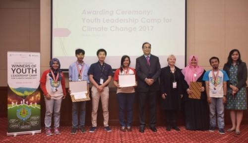 Foto Mahasiswa UGM Raih Penghargaan UNESCO Bidang Perubahan Iklim