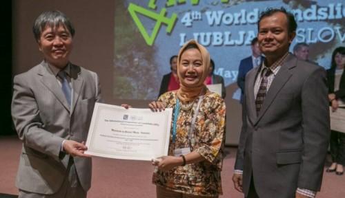 Foto UGM Raih Penghargaan Internasional Pengurangan Risiko Bencana Longsor