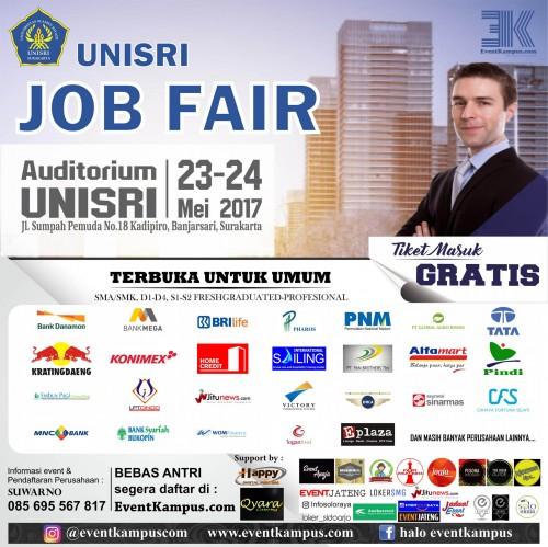 cover Siapkan Karir Kunjungi Jobfair di Universitas Slamet Riyadi (Unisri) Surakarta