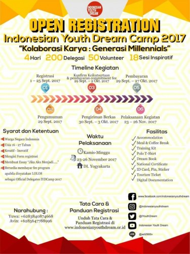 cover Indonesian Youth Dream Camp 2017