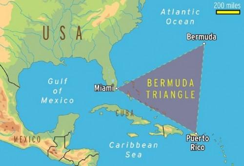 Foto Terungkap, Inilah Jawaban Atas Misteri Segitiga Bermuda !