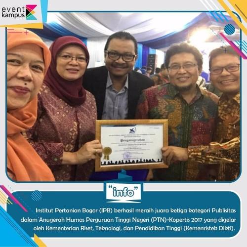 cover Institut Pertanian Bogor (IPB) Juara Ke-3