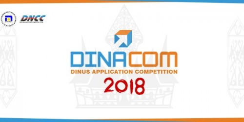 cover Dinacom (Dinus Application Competition) 2018
