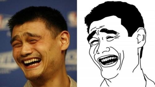 cover Yao Ming Face – Sosok yang sering nongol jadi Meme, Siapa sih dia sebenernya????? Pen tau?
