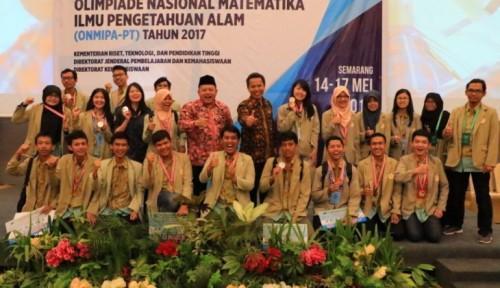cover UGM Boyong 23 Medali ON MIPA 2017