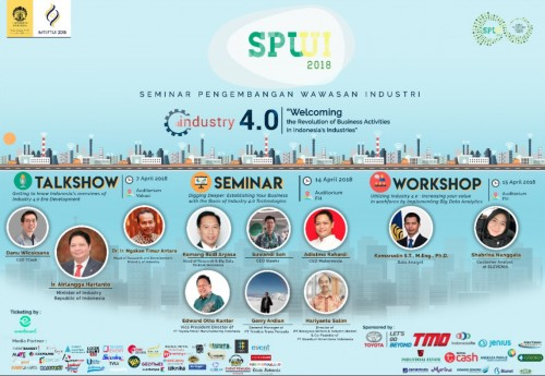 cover SPWI UI 2018 Industry 4.0: Welcoming The Revolution of Business Activities in Indonesia's Industries
