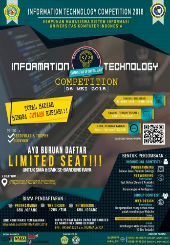 cover INFORMATION TECHNOLOGY COMPETITION