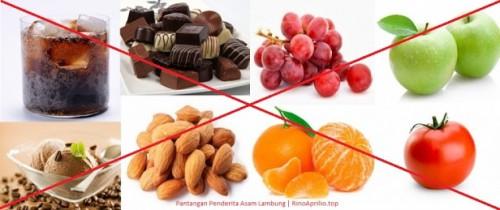 cover 7 Pantangan Makanan Asam Lambung