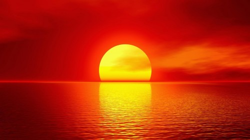 Foto Mengapa Matahari Panas