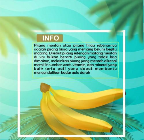 Foto Manfaat mengejutkan dari makan pisang mentah