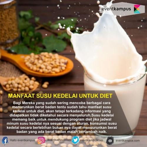 cover MANFAAT SUSU KEDELAI BAGI KAMU YANG LAGI DIET