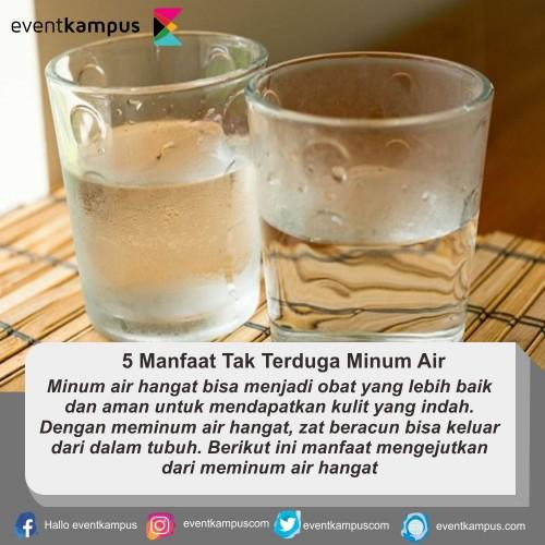 cover 5 Manfaat Tak Terduga Minum Air