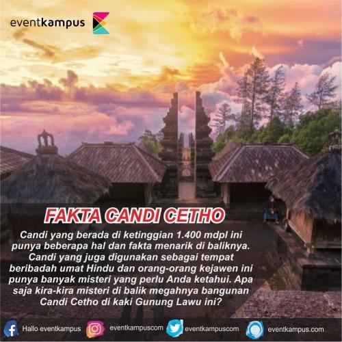 cover FAKTA DI BALIK CANDI CETHO