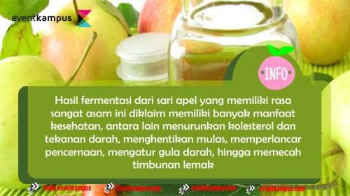 Foto Ini 5 manfaat mengejutkan cuka apel untuk kecantikan