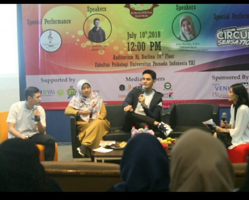 cover Talkshow Be Success with your Social Media