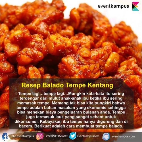 cover Resep Balado Tempe Kentang