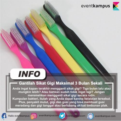 cover Gantilah Sikat Gigi Maksimal 3 Bulan Sekali