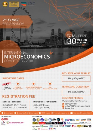 cover INTERNATIONAL MICROECONOMICS COMPETITION