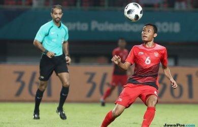 Foto Evan Dimas Pede Timnas Indonesia U-23 Bisa Mengalahkan UEA