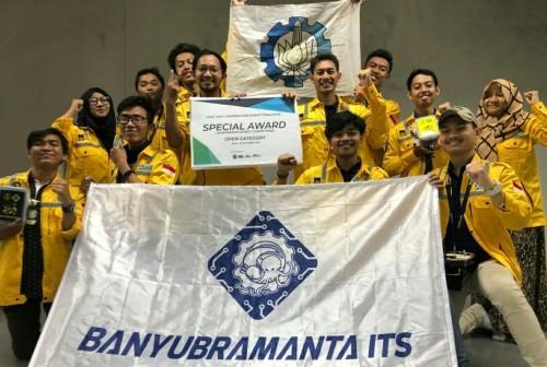 cover Baru Terbentuk, Tim Banyubramanta ITS Raih Special Award