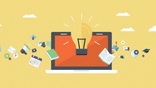 cover Kerja dan kuliah dengan sistem online