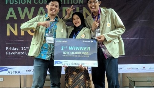 cover Tim UGM Juara Fushion Innovative Contest 2019