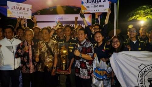Foto UGM Pertahankan Gelar Juara Umum Kontes Robot Terbang Indonesia 2019