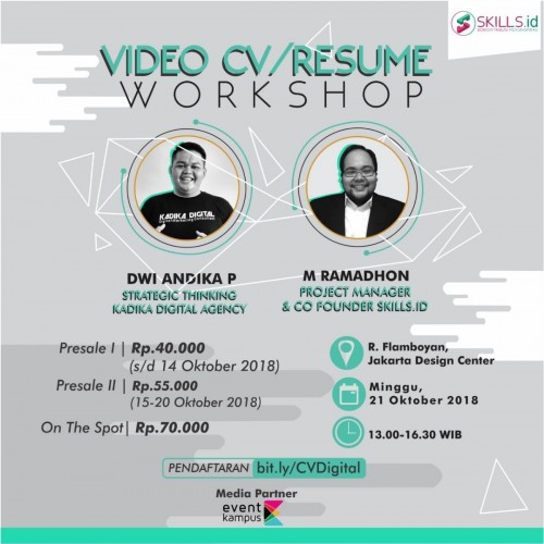 cover Video CV/ Resume Workshop