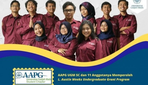 cover 11 Mahasiswa AAPG UGM-SC Terima Dana Pendidikan L. Austin Weeks