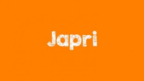 cover Kalau Ada Apa-Apa Japri aja. Arti Japri adalah ?