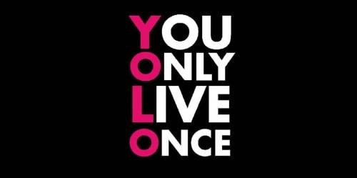 """cover """"YOLO"""" hidup hanya sekali! Apa Maksudnya??"""