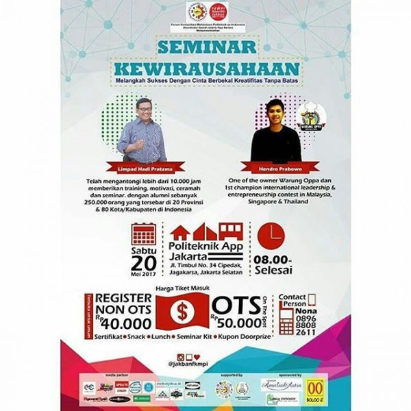 Seminar Kewirausahaan Eventkampus Com