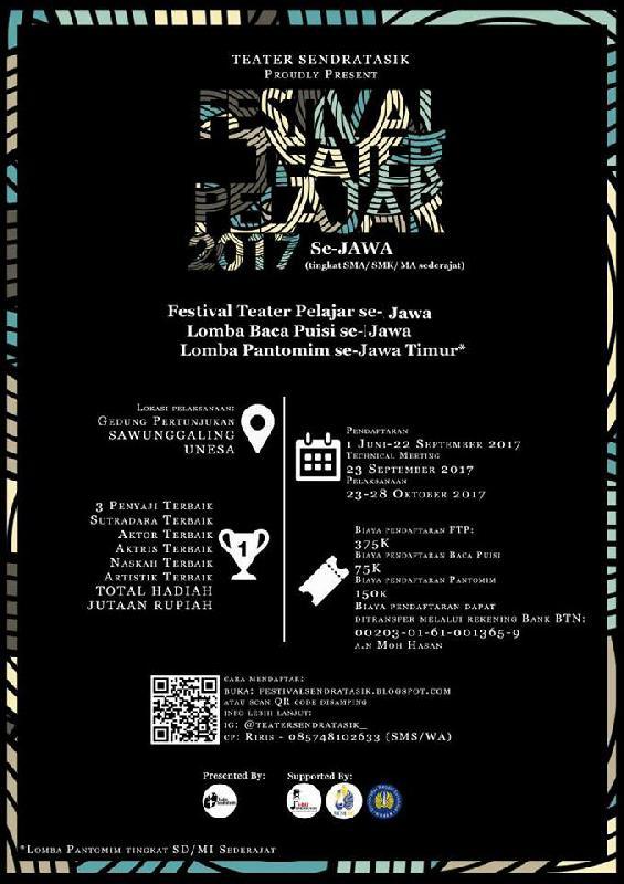 Poster Festival Teater Pelajar 5