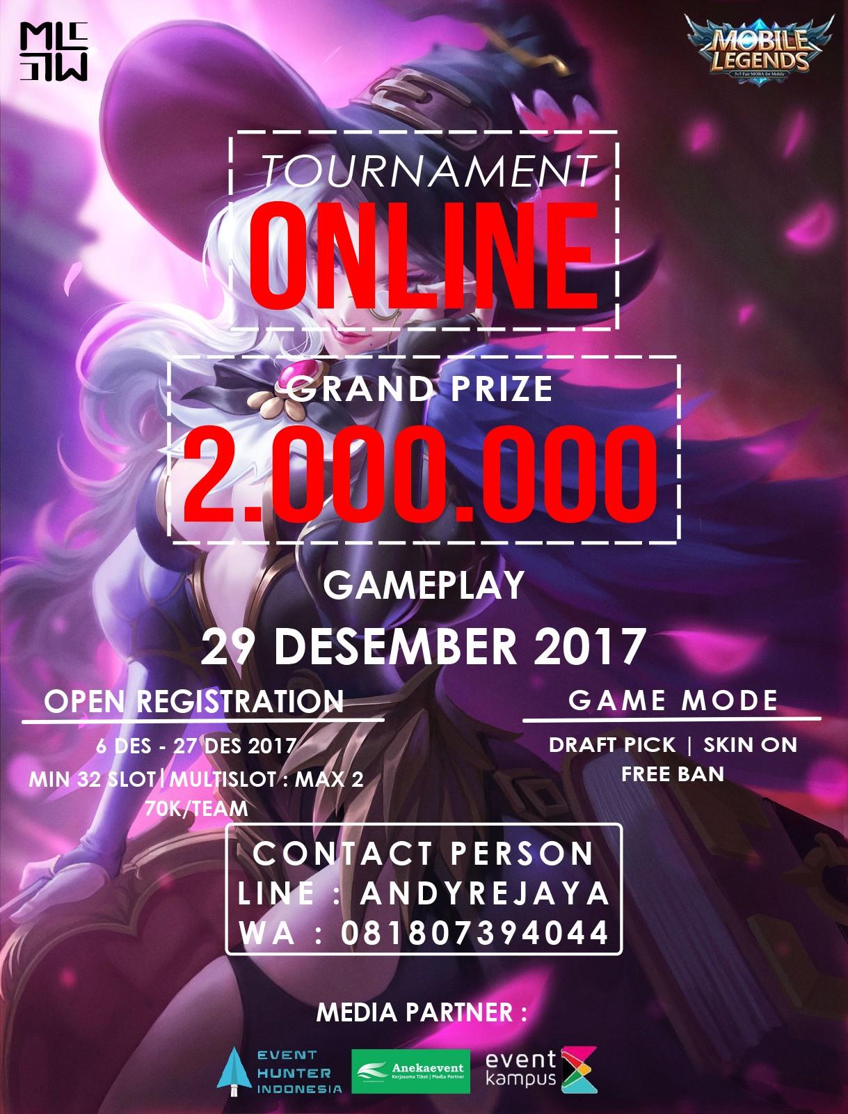 Event Calendar Mobile Legend : Turnamen online mobile legend condet eventkampus
