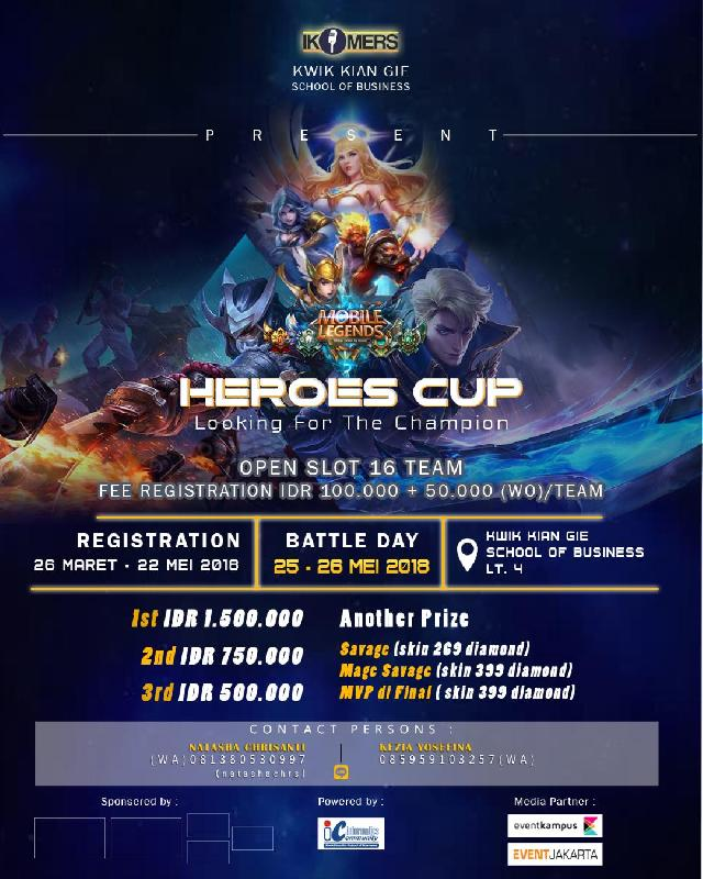 Event Calendar Mobile Legend : Heroes cup mobile legend quot looking for the champion