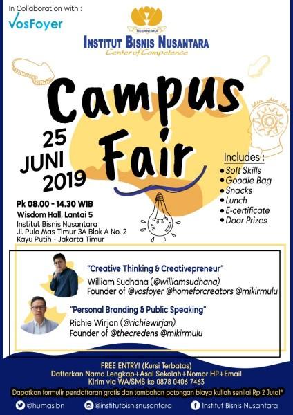 IBN Campus Fair 2019 | Eventkampus com