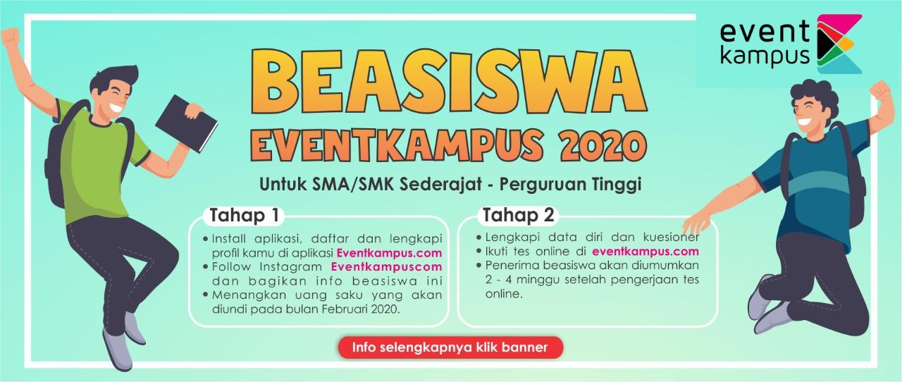 BEASISWA EVENTKAMPUS.COM 2020